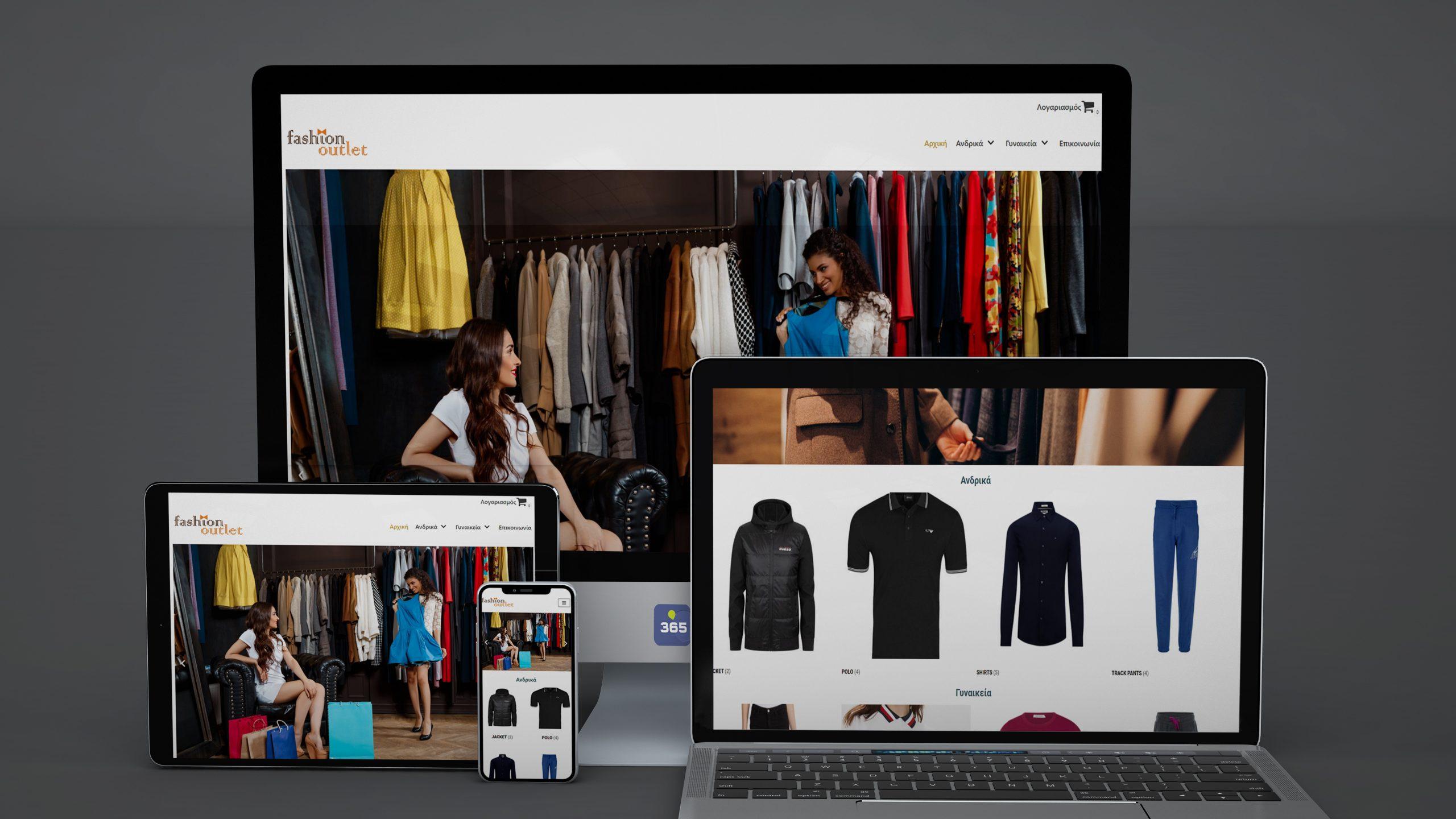 Eshop WEBPROMOTION 365 fashionoutlet.com.gr